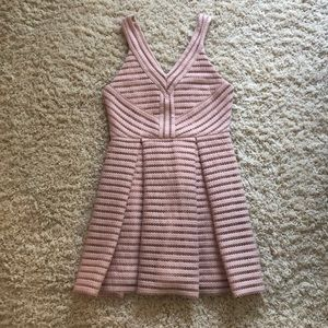 Forever21 Dusty Pink/Mauve A-line dress- M/S